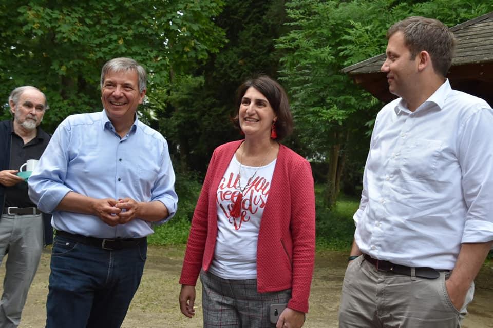 Gert-Uwe Mende, Isabel Maino-Amer, Lars Klingbeil